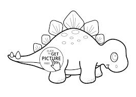 cartoon dinosaur coloring page coloring home