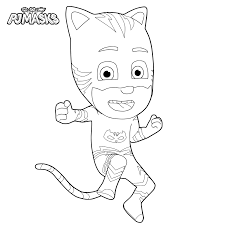 30 pj masks coloring pages 2017
