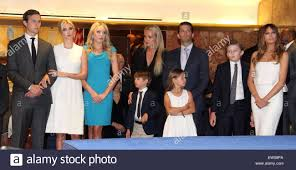 The Trump Family by New York New York Usa 15th June 2015 Doanld Trump U0027s Family