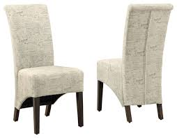 dining chairs inspiring white leather dining chairs white