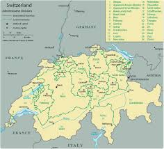 Europe Map by Map Switzerland Travel Europe