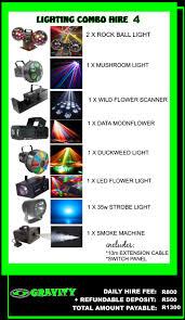 disco lighting for hire gravity dj store gravity sound lighting