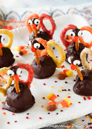 chocolate peanut butter pretzel turkeys the who ate everything