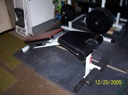 Bench For Working Out Setting Up A Home Gym Pictures Part One