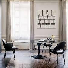saarinen oval dining table by knoll yliving