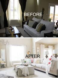 livingroom makeovers 20 awesome before and after living room makeovers 2017