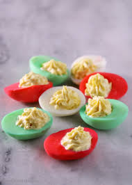 christmas deviled egg plate classic devilled eggs recipe with a twist sober julie