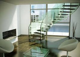 Modern Glass Stairs Design Modern Day Spiral Staircase Building Concept With Wood And Glass
