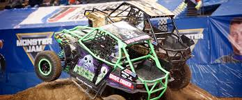 first grave digger monster truck max d and grave digger battle in council bluffs monster jam