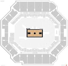 Prudential Center Floor Plan Barclays Center Concert Seating Chart With Seat Numbers