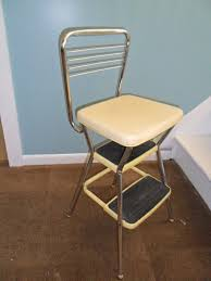 Painted Metal Vintage Cosco High Chair Kitchen Step Stool Finest Vintage Kitchen Step Stool Cosco