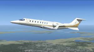 fsx how to fly the default learjet kacy kewr full flight ap ils