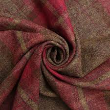 Red Plaid Upholstery Fabric Vintage Plaid Upholstery Fabric Med Art Home Design Posters