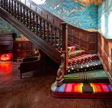 eclectic caroet covered staircase 5 carlos place mayfair