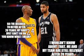 Kobe Memes - kobe retiring after 20 years and the last 5 years being irrelevant