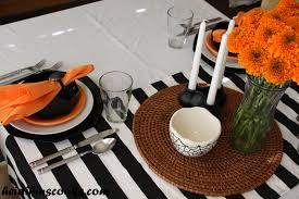 halloween tablecloths setting a fun and festive halloween table heidikins cooks