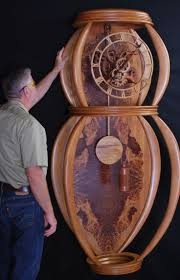 Free Simple Wooden Clock Plans by 51 Best Wooden Clocks Images On Pinterest Wooden Gears Wooden