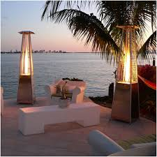 Pyramid Flame Patio Heater Garden Sun Stand Up Flame