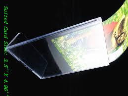 2017 3 5 u0027 u0027 x 4 96 u0027 u0027 plastic acrylic table sign display menu paper