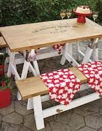 Picnic Table Plans Free Pdf by Picnic Tables At Woodworkersworkshop Com