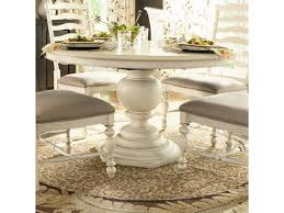 Glass Top Pedestal Dining Tables Furniture Round Pedestal Table Round Pedestal Dining Table With