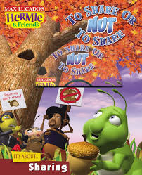 to share or nut to share with cdrom max lucado u0027s hermie u0026 friends