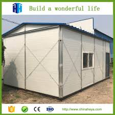 china prefabricated portable houses homes small steel frame