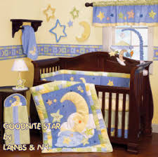 Moon Crib Bedding Another Nursery Idea Only Probably Something A Bit Darker
