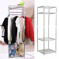 Bedroom Clothes Horse Interior Metal Clothes Rack For Your Clothes Organizer Idea