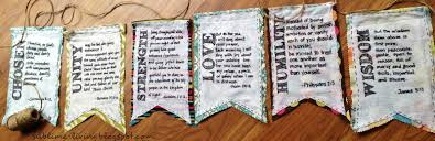 Prayer Flags Diy Sublime Living Family Summer Challenge Diy Bible Verse Pennant