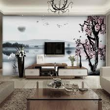 Living Room Standing Lamps Wall Murals In Living Room Unique Table White Leather Sofa