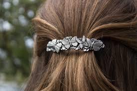 barrette hair hair clip barrette hair accessory butterflies oberon design