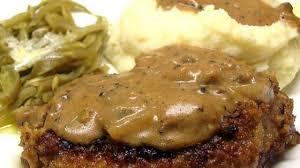 easy mushroom gravy recipe by grandma u0027s pork chops in mushroom gravy recipe allrecipes com