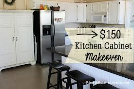 brilliant kitchen cabinet makeover with low cost cabinet makeovers