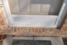 Exterior Door Sills Weather Stripping For Exterior Doors