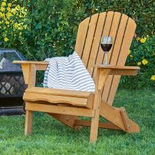 Chairs Patio Best Choice Products Outdoor Adirondack Wood Chair Foldable Patio