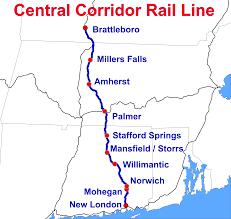Mohegan Sun Map Central Corridor Rail Line Wikipedia