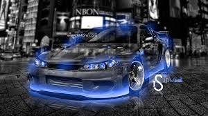 nissan dark blue nissan silvia s15 crystal city car 2013 el tony