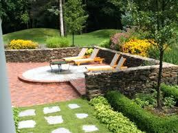 Diy Stone Patio Ideas Patio Ideas Diy Backyard Stone Paver Patio Tutorial Brick Stone