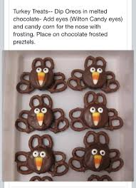 easy oreo pretzel turkeys for thanksgiving chocolate turkey