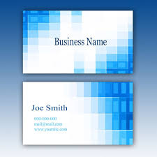 blue photoshop business card template make money online with