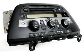 honda odyssey anti theft radio code honda odyssey 05 10 radio am fm 6 disc cd changer w rear pwr 39100