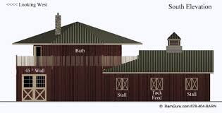 backyard horse barns barn plans 4 stall octagon horse barn living quarters apartment