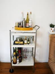 Ikea Cart by Gold And Marble Ikea Bar Cart Diy For Less Than 25 U2013 Gingersnap