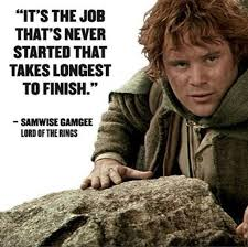 do you which lord of the rings character said the quote