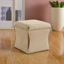 homepop cinch storage ottoman with nail heads free shipping