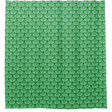 Chain Mail Curtain Green Net Mesh Or Chainmail Like Pattern Shower Curtain Zazzle