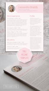 free resume builder and save 67 best free resume templates for word images on pinterest free blush and pixie the pink resume template giveaway