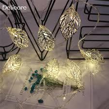 10 mini light string delicore 1 65m mini 10 led leaf string lights battery christmas