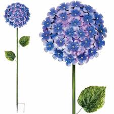 purple hydrangea 49 purple hydrangea garden stake only 44 95 at garden